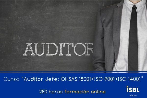 Curso OnLine: Auditor Lider: ISO 9001 + ISO 14001 + OHSAS 18001
